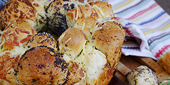 savoury party bread