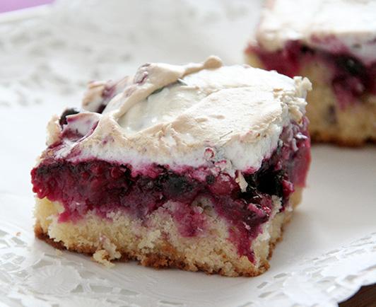 Blechkuchen mit topping