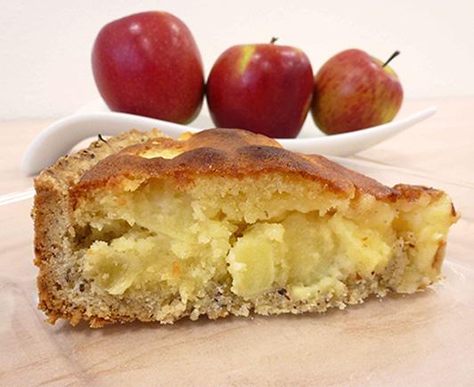 Apfel Marzipan Kuchen Rezept Inspiriert Von Kuchenmeister