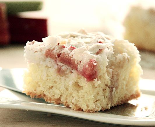 Rhabarber Kokos Kuchen Rezept Inspiriert Von Kuchenmeister